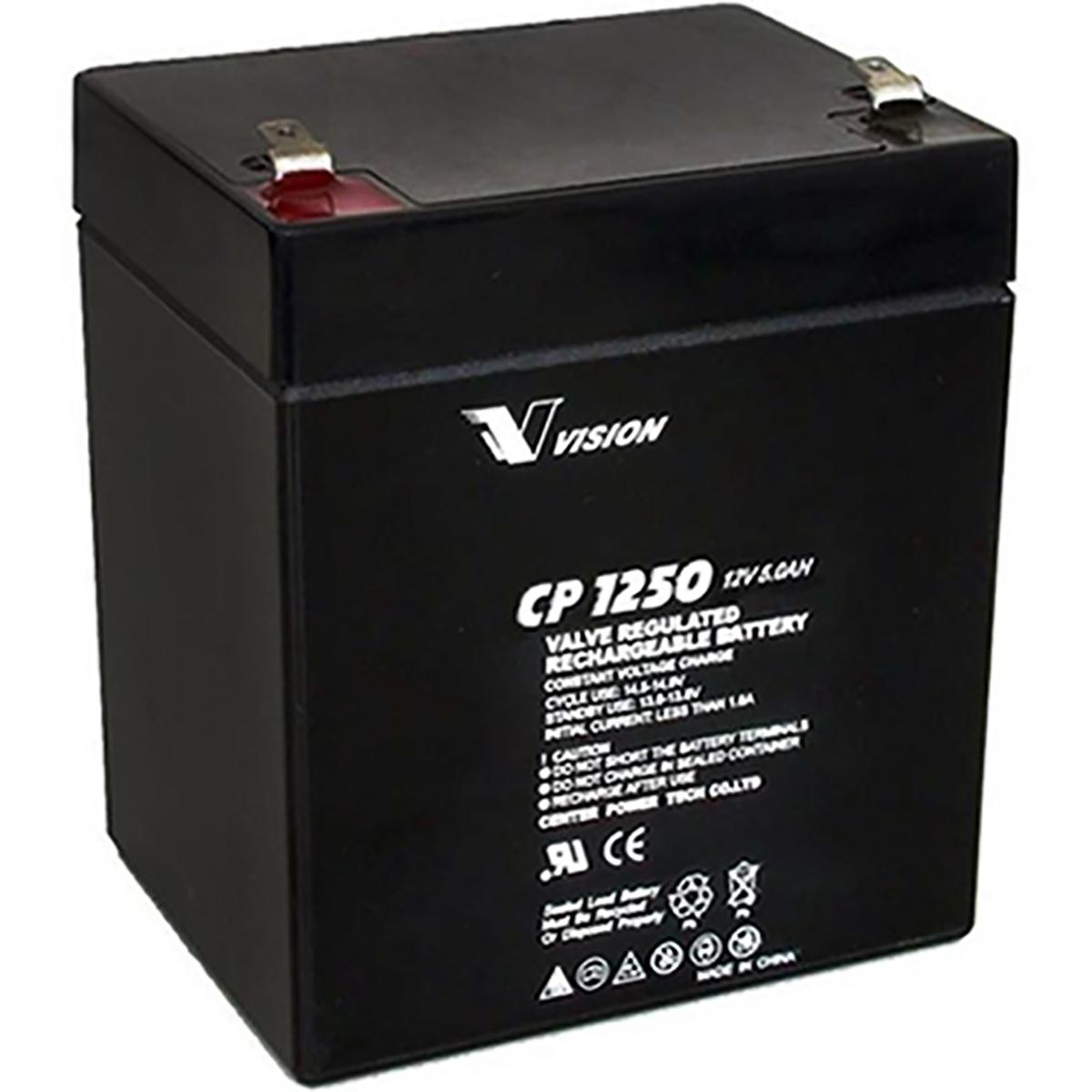 Power Patrol SLA1055 12V 5Ah Sealed Lead Acid Battery This is an AJC Brand Replacement