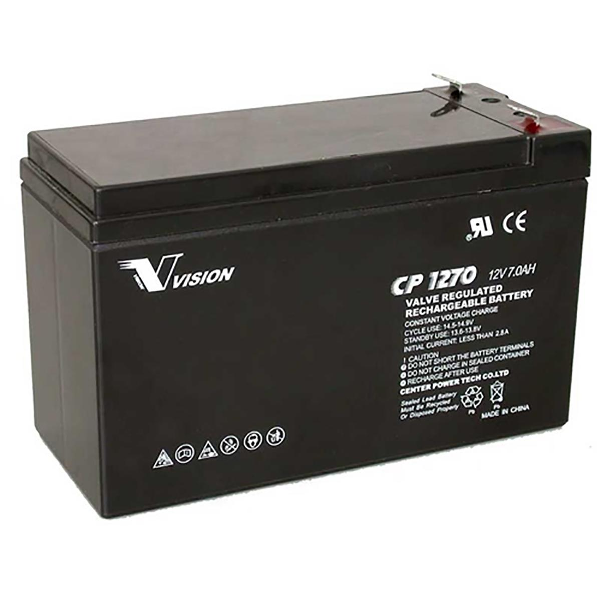 Emergency Battery 12 Volt 6.5AH